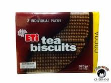 ETI TEA BISCUITS COCOA 370G