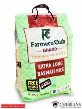 FARMERS CLUB GRAND EXTRA LONG BASMATI RICE 10LB