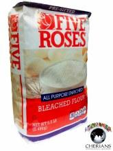 FIVE ROSES- ALL PURPOSE ENRICHED BLECHED FLOUR 5.5LB