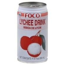 FOCO LYCHEE 350ML