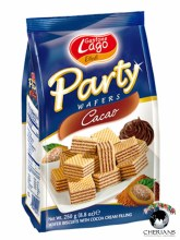 GASTONE LAGO PARTY WAFERS COCOA 250G