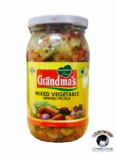 GRANDMAS MIXED VEGETABLE (WHITE) PICKLE 400G