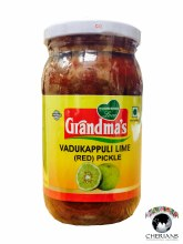 GRANDMAS VADUKAPPULI LIME (RED) PICKLE 400G
