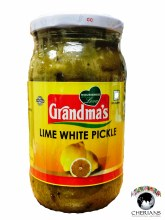 GRANDMAS LIME WHITE PICKLE 400G
