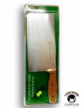 GREEN PINE KOREA STAINLESS STEEL KITCHEN KNIFE 22.7X11.3X2.4CM