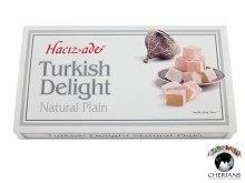 HACIZADE TURKISH DELIGHT NATURAL PLAIN 454G