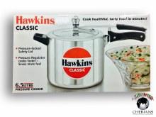 HAWKINS CLASSIC PRESSURE COOKER 6.5L