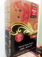 HEMANI HENNA FOR HAIR-RED 100G
