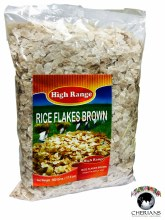 HIGH RANGE RICE FLAKES BROWN 500G