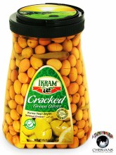 IKRAM CRACKED GREEN OLIVES 2260G