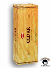 HEM CEDAR INCENSE (6 PACKS OF 20 STICKS)