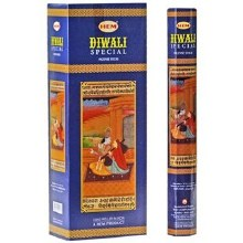 HEM DIWALI SPECIAL INCENSE (6 PACKS OF 20 STICKS)