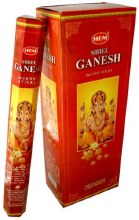 HEM GANESH INCENSE (6 PACKS OF 20 STICKS)