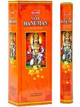 HEM HANUMAN INCENSE (6 PACKS OF 20 STICKS)