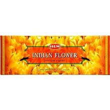 HEM INDIAN FLOWER INCENSE (6 PACKS OF 20 STIKCS)