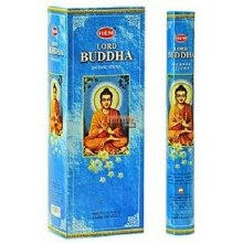 HEM LORD BUDDHA INCENSE (6 PACKS OF 20 STICKS)
