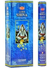 HEM LORD SHIVA INCENSE (6 PACKS OF 20 STICKS)