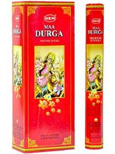 HEM MAA DURGA INCENSE (6 PACKS OF 20 STICKS)
