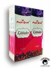 PUJA GREH LAVENDER INCENSE (6 PACKS OF 20 STICKS)