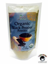 JIVA ORGANIC BLACK PEPPER POWDER 7 OZ