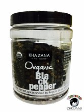 KHAZANA ORGANIC BLACK PEPPER 200G