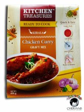 KITCHEN TREASURES CHICKEN CURRY GRAVY MIX 400G