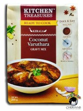 KITCHEN TREASURES KERALA COCONUT VARUTHARA GRAVY MIX 200G