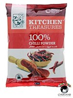 KITCHEN TREASURES 100% CHILLI POWDER 400G