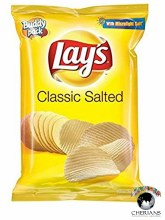 LAYS CLASSIC SALTED 52G