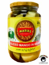 MARIAS SLICED MANGO IN BRINE 400G