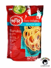 MTR MURUKU-LENTIL & RICE SNACK MIX 500G