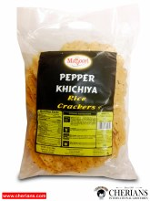 "MAYOORI PEPPER KHICHIYA (RICE CRACKERS 5"") 340G"