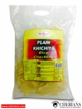 "MAYOORI PLAIN KHICHIYA (RICE CRACKERS 3"") 340G"