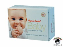 MYSORE SANDAL BABY SUPER PREMIUM SOAP 75G