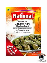 NATIONAL CHICKEN HARA HYDERABADI (2)40G