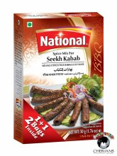 NATIONAL SEEKH KABAB (2)50G