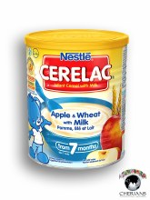 NESTLE CERELAC APPLE & WHEAT WITH MILK 400G