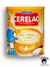 NESTLE CERELAC RICE & MAIZE WITH MILK 400G