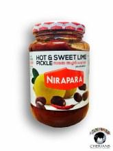 NIRAPARA HOT & SWEET LIME PICKLE 400G