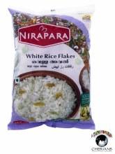 NIRAPARA WHITE RICE FLAKES 500G