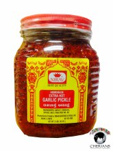 NIRAV HOMEMADE EXTRA HOT GARLIC PICKLE 2LB