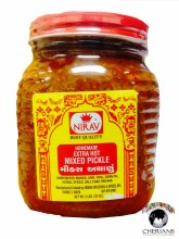 NIRAV HOMEMADE EXTRA HOT MIXED PICKLE 2LB