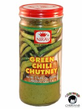 NIRAV GREEN CHILLI CHUTNEY 220ML