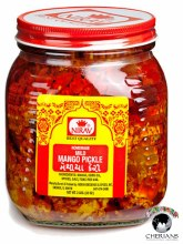 NIRAV HOMEMADE MILD MANGO PICKLE 2LB