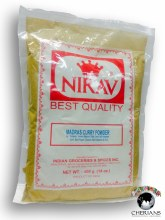 NIRAV MADRAS CURRY POWDER 14OZ