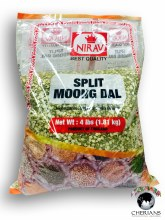 NIRAV SPLIT MOONG DAL 4LB