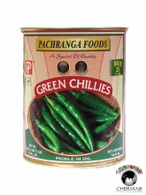 PACHRANGA GREEN CHILLIES PICKLE 800G