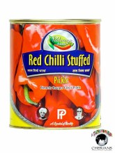 PACHRANGA FOODS- RED CHILLI STUFFED PICKLE 800G