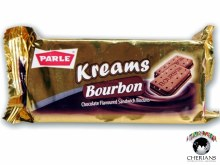 PARLE KREAMS BOURBON CHOCOLATE SANDWICH BISCUITS 75G