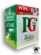 PG TIPS ORIGINAL 80 PYRAMID TEA BAGS/232G